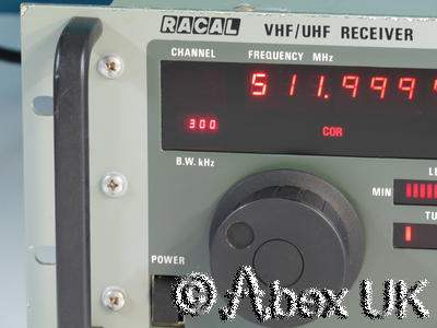 Racal RA1795 VHF/UHF Comms Receiver Multimode 20 - 512MHz AM/FM/USB/LSB/CW (4)
