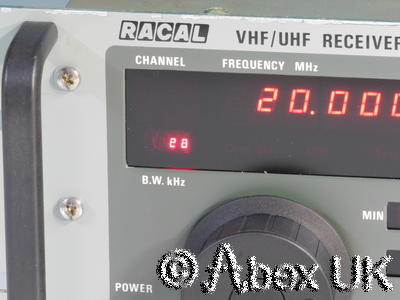 Racal RA1795 VHF/UHF Comms Receiver Multimode 20 - 512MHz AM/FM/USB/LSB/CW