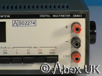 Vintage Rare and Collectable Advance Instruments DMM3 Nixie Tube Multimeter