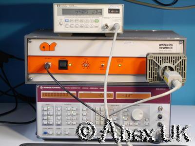 Amplifier Research (AR) 25W1000A 25W 1-1000MHz Linear Amplifier