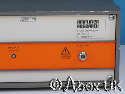Amplifier Research (AR) 25W1000A 25W 1-1000MHz Linear Amplifier