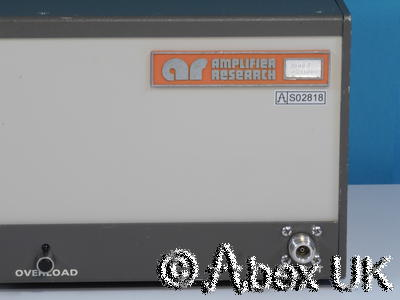 Amplifier Research (AR) 4W1000 4W 1-1000MHz Linear Amplifier