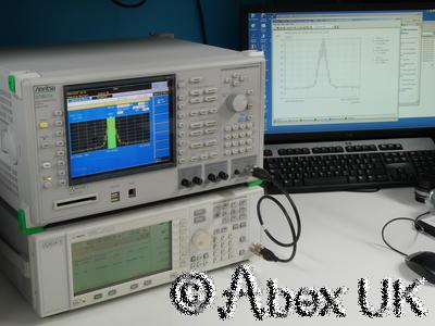 Anritsu MT8815A 2.7GHz Communications Spectrum Analyser Signal Generator