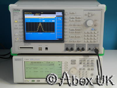 Anritsu MT8815A 2.7GHz Communications Spectrum Analyser Signal Generator