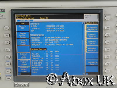 Anritsu MT8820A 2.7GHz Communications Spectrum Analyser Signal Generator (2)