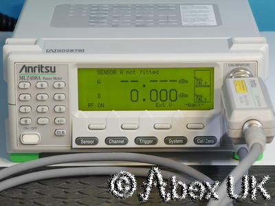 Anritsu ML2408A Dual Input Wideband RF Power Meter GPIB (2)