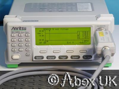 Anritsu ML2408A Dual Input Wideband RF Power Meter GPIB (3)