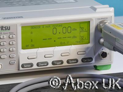Anritsu ML2408A Dual Input Wideband RF Power Meter GPIB