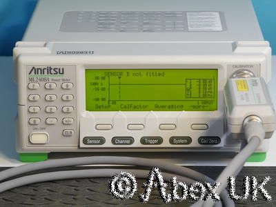 Anritsu ML2408A Dual Input Wideband RF Power Meter GPIB (4)
