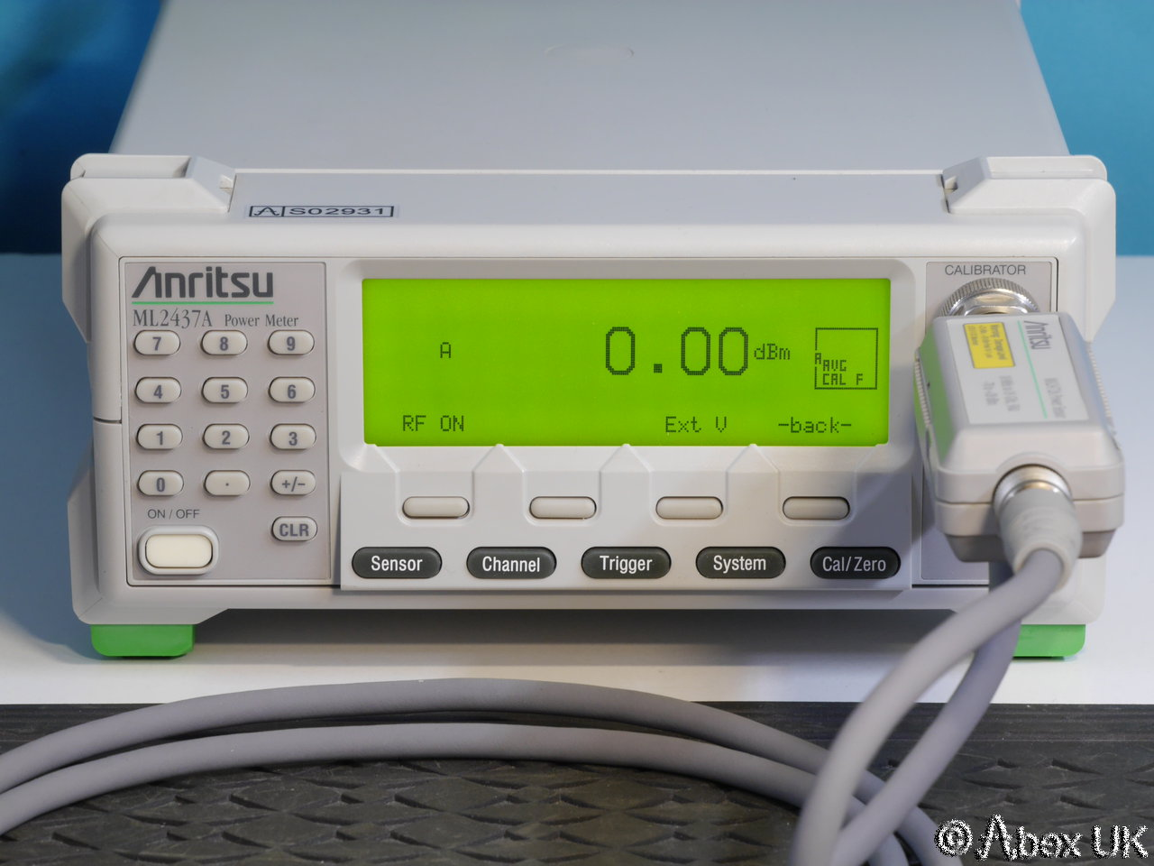 Rf Power Meter : Anritsu ml a single input rf power meter gpib