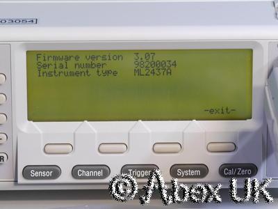 Anritsu ML2437A Single Input RF Power Meter GPIB