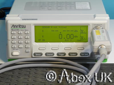 Anritsu ML2438A Dual Input RF Power Meter GPIB