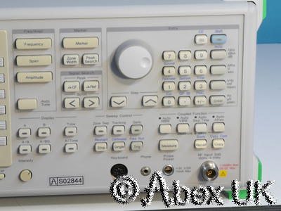Anritsu MS2602A 8.5GHz Synthesised Spectrum Analyser GPIB