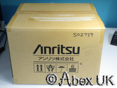 Anritsu MS9710B/C Optical Spectrum Analyser 600-1750nm W4Y31655E (2)