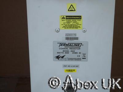 Bird 8922 Termaline 5000 Watt Load 1-5/8