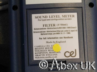 CEL Instruments 284, 500, 503, 593, 594, MK302 Analyser Outdoor Microphone Kit