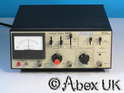 EG&G Brookdeal 9415 Linear Gate / Sampler