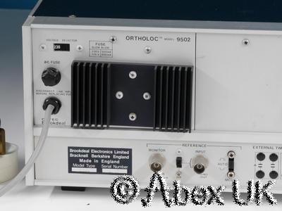 EG&G Brookdeal Ortec Ortholoc 9502 Lock-in Amplifier / Vector Voltmeter