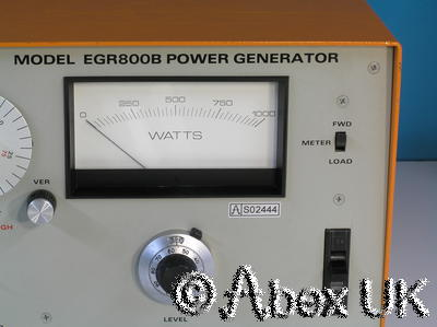 ENI EGR800B 800 Watt Power Amplifier Ultrasonic Sonar Acoustics Plasma Generator