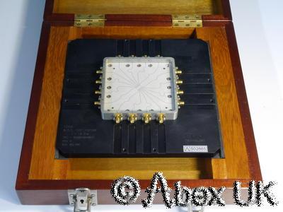 ERA 18GHz  SO-16 Surface Mount Test Fixture Nice Wooden Box (2)