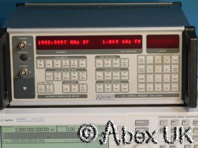 Farnell Instruments AMM2000 2.4GHz Modulation and Audio Analyser (2)