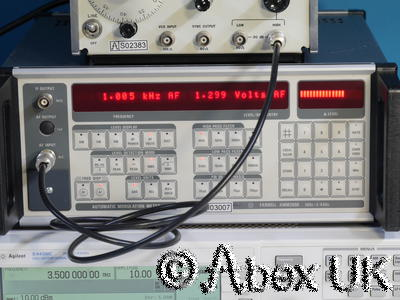Farnell Instruments AMM2000 2.4GHz Modulation and Audio Analyser (2)