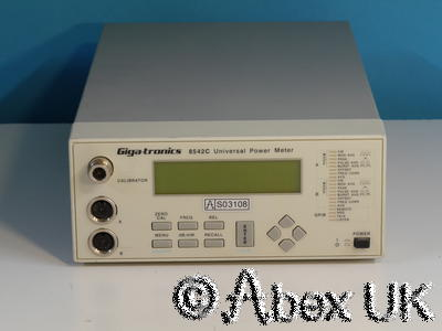 Gigatronics 8542C RF Power Meter, Dual Input, Display unit only.