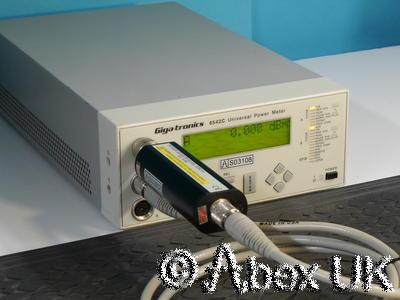 Gigatronics 8542C RF Power Meter, Dual Input, Display unit only.