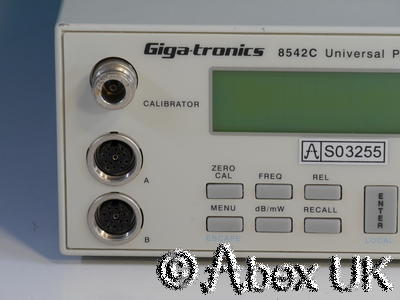 Gigatronics 8542C RF Power Meter, Dual Input, Display unit only. (3)