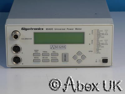 Gigatronics 8542C RF Power Meter, Dual Input, Display unit only. (3)