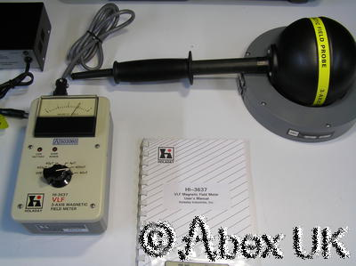 Holaday HI-3637 3-Axis RF VLF Magnetic Field Probe / Monitor 2-400KHz