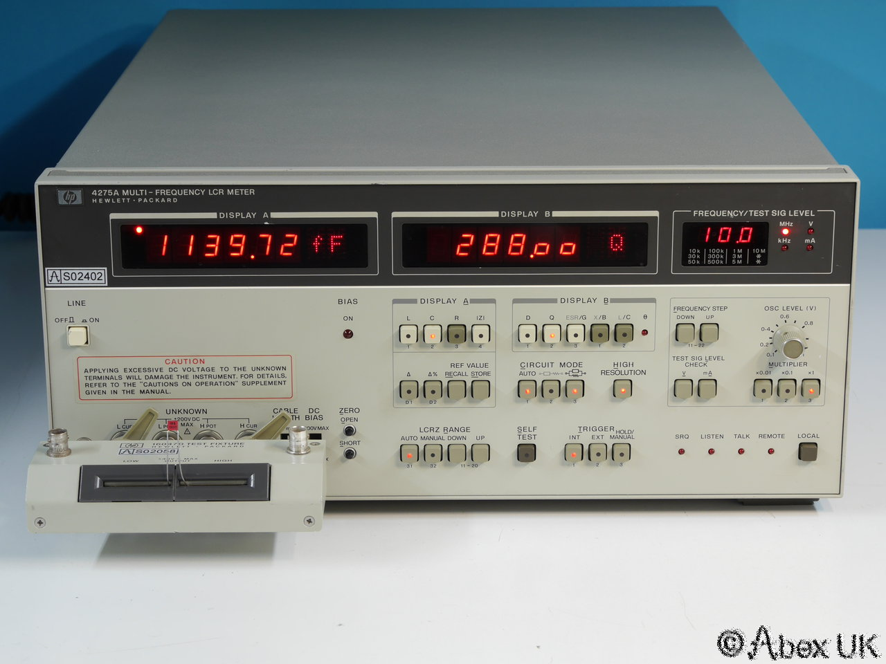 Hp Lcr Meter : Hp agilent a multi frequency impedance analyser
