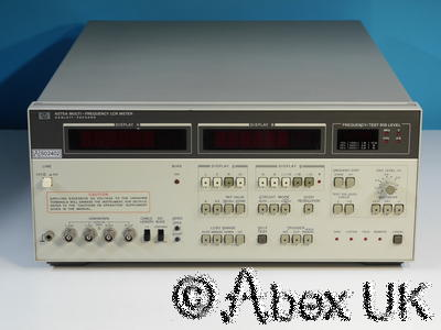 HP (Agilent) 4275A Multi Frequency Impedance Analyser / LCR Meter