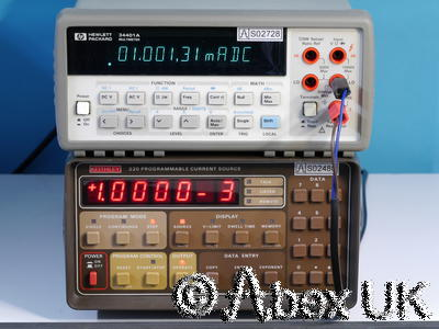 HP (Agilent) 34401A 6.5 Digit Bench DMM GPIB RS232 (1)