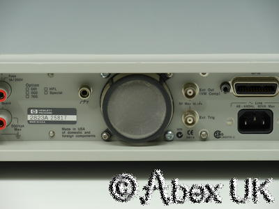 HP (Agilent) 3458A 8.5 Digit DMM Metrology Grade (4)