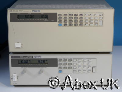 HP (Agilent) 6050A Electronic Load System 3x 60504B 60V 120A 600W each (1)