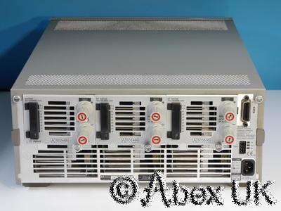 HP (Agilent) 6050A Electronic Load System 3x 60504B 60V 120A 600W each (1)