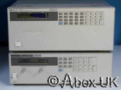 HP (Agilent) 6050A Electronic Load System 1x 60503B 120V 10A 250W (2)
