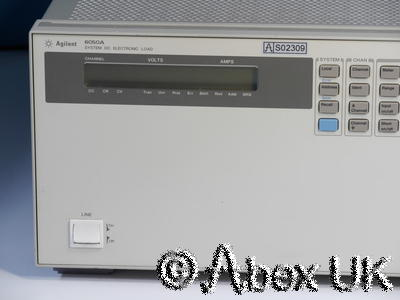Agilent (HP) 6050A Electronic Load System 2x 60504B 60V and 2x 60503B 120V (4)