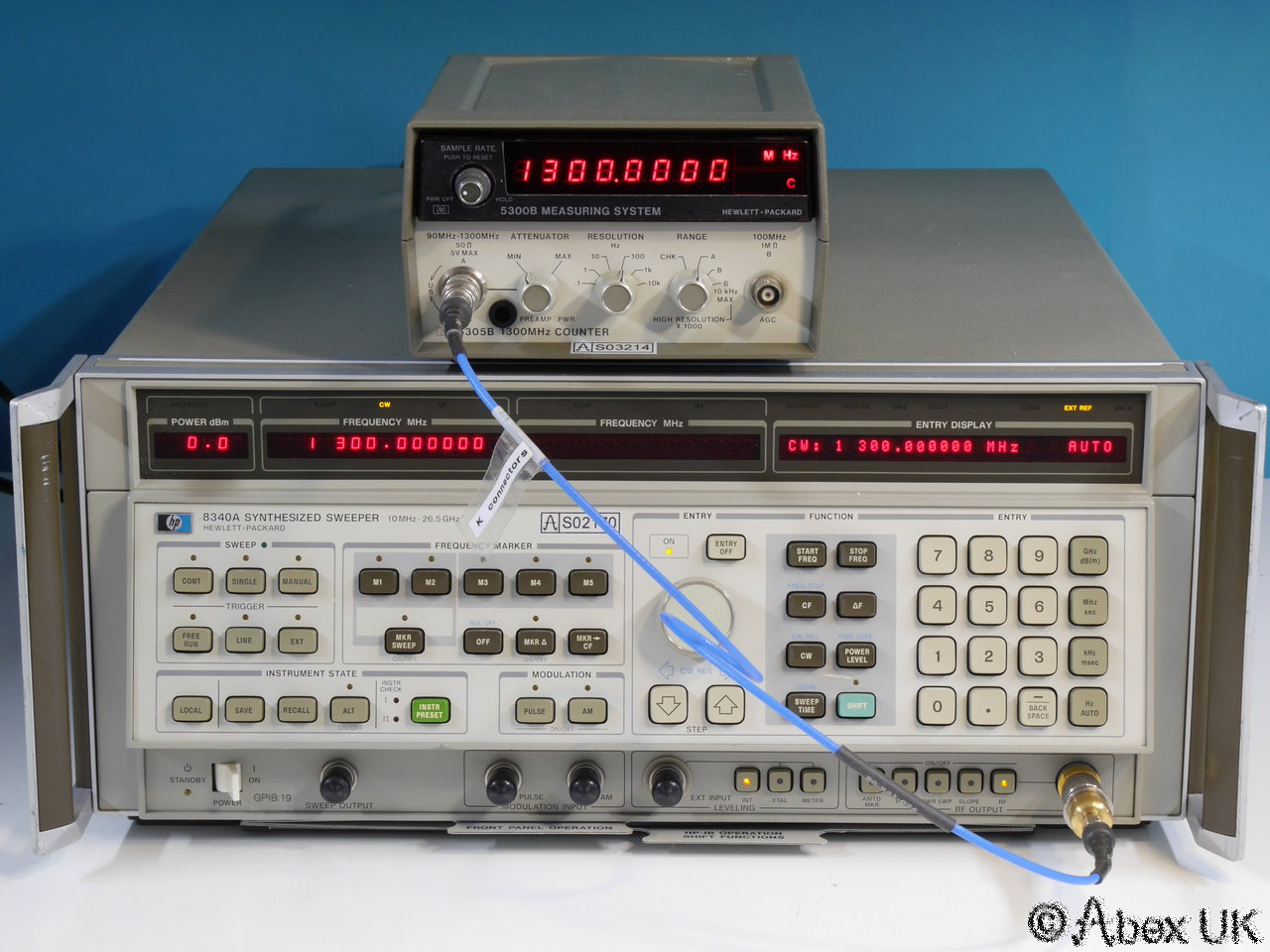 Hp Frequency Counter : Hp agilent b ghz frequency counter