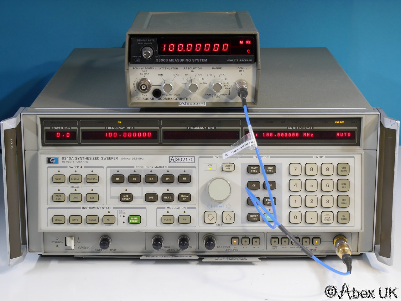 Agilent Frequency Counter : Hp agilent b ghz frequency counter ebay
