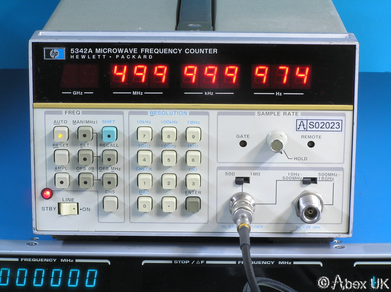 Hp Frequency Counter : Hp agilent a ghz frequency counter