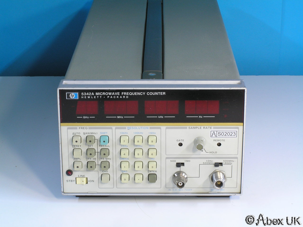 Agilent Frequency Counter : Hp agilent a ghz frequency counter