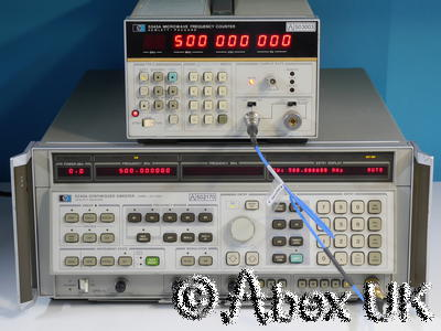 HP (Agilent) 5343A 26.5GHz Microwave Frequency Counter Option 004, 011