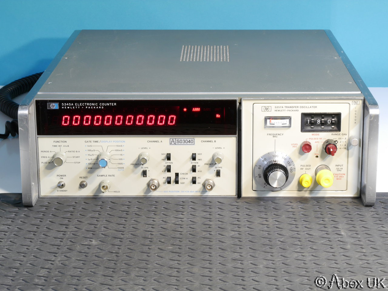 Hp Frequency Counter : Hp agilent a ghz universal counter timer