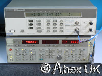 HP (Agilent) 5361B 40GHz CW/Pulse Frequency Counter (1)