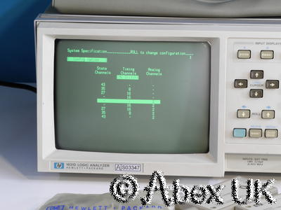 HP (Agilent) 1631D Logic Analyser with Probes