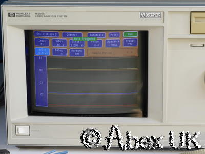 HP (Agilent) 16500A Logic Analyser, Probes, 2x 16531A 400MHz DSO  (2)
