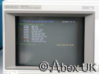 HP (Agilent) 16500C Logic Analyser, Probes, 16520A (1)
