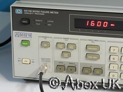 HP (Agilent) 8970B Noise Figure Meter 10MHz - 1.6GHz GPIB (3)